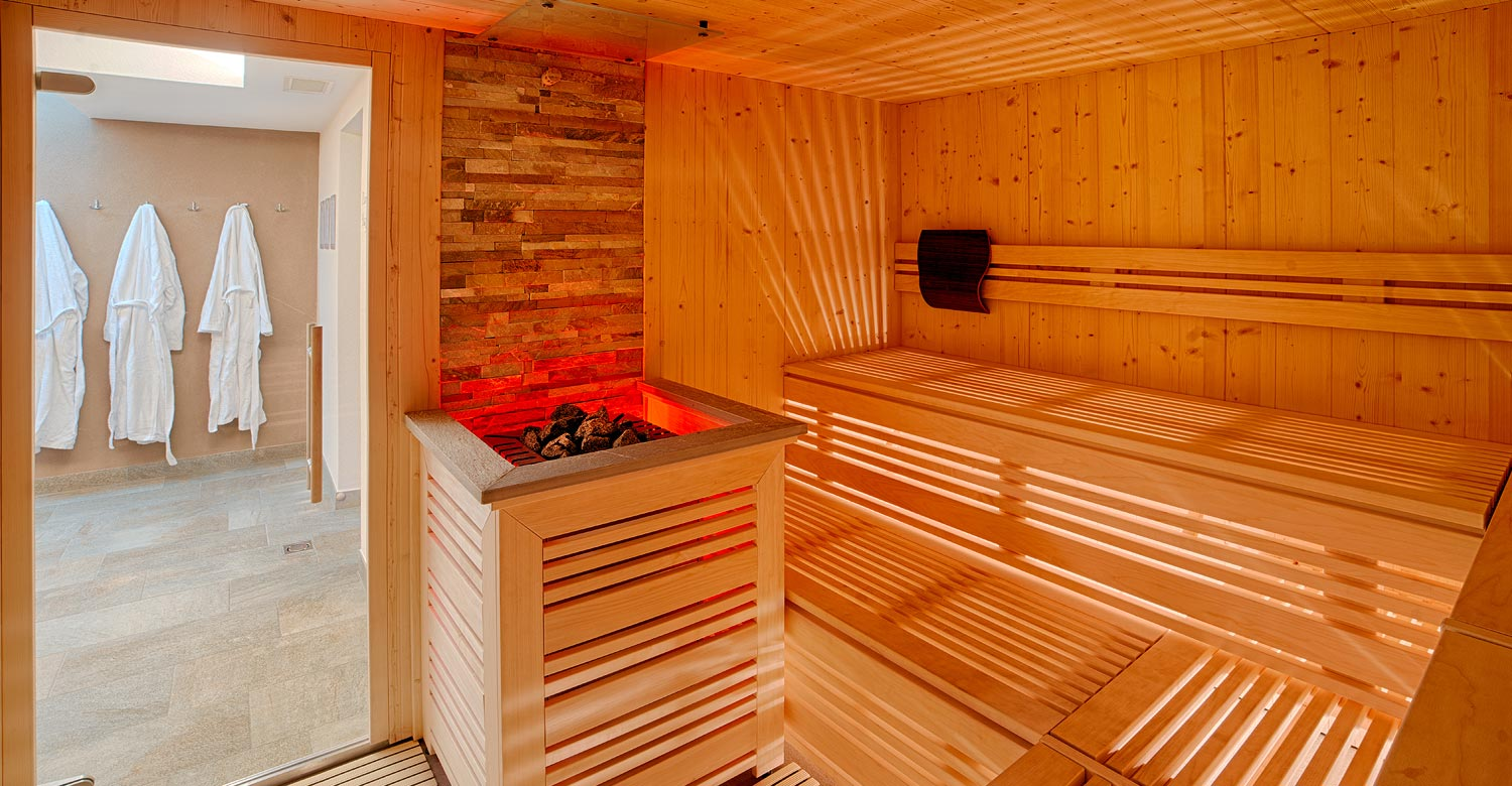 Sauna Area At Hotel Mair Sand In Taufers Ahrntal Valley